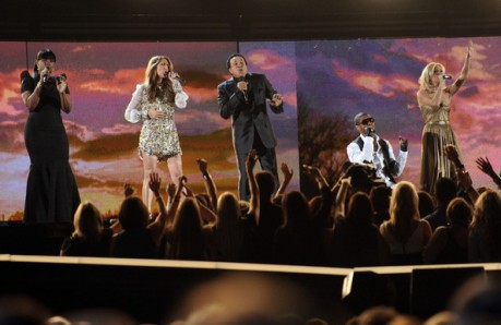 Celine Dion, Usher,Carrie Underwood, Jennifer Hudson & Smokey Robinson.